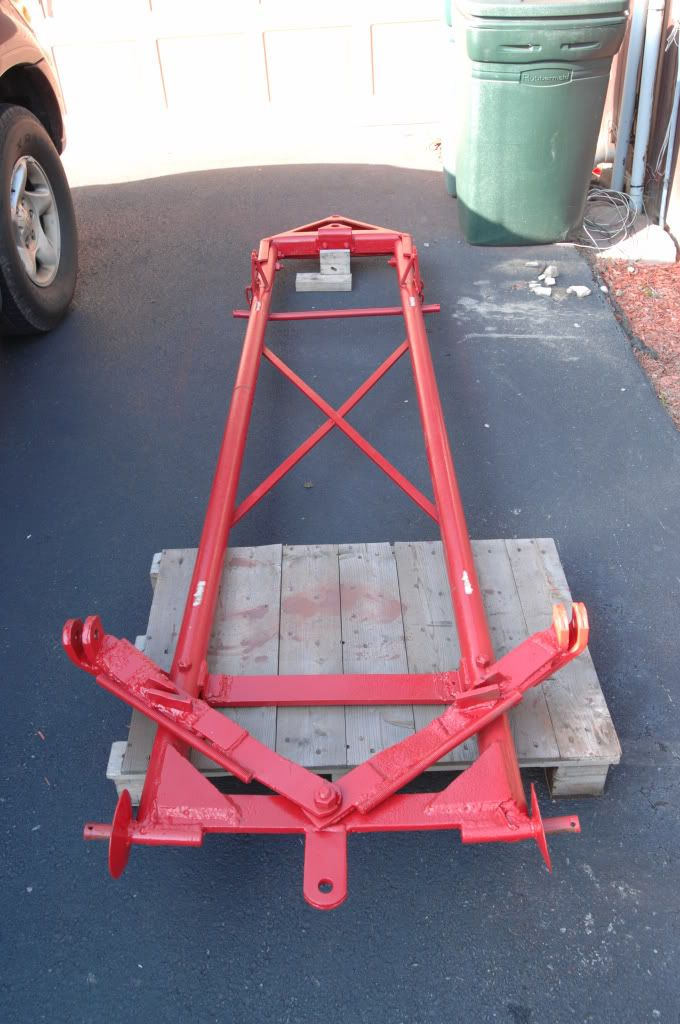 Ford 8n Frame : Front mount snow plow ford n tractor