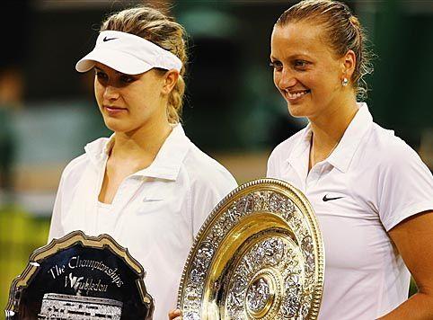 5/7/2014 - Wimbledon - Petra Kvitova l'a emporté sur Eugénie 'Genie' Bouchard.