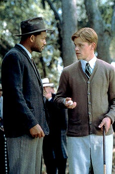 The Legend of Bagger Vance - What an amazing story and movie. Angels are everywhere.