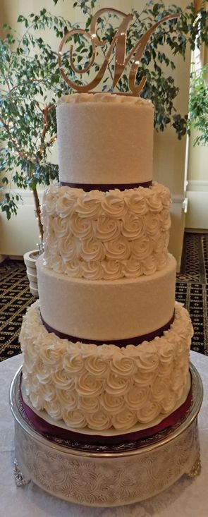 wedding cake bakeries york pa 17 best images about wedding cakes with rosettes on 21902