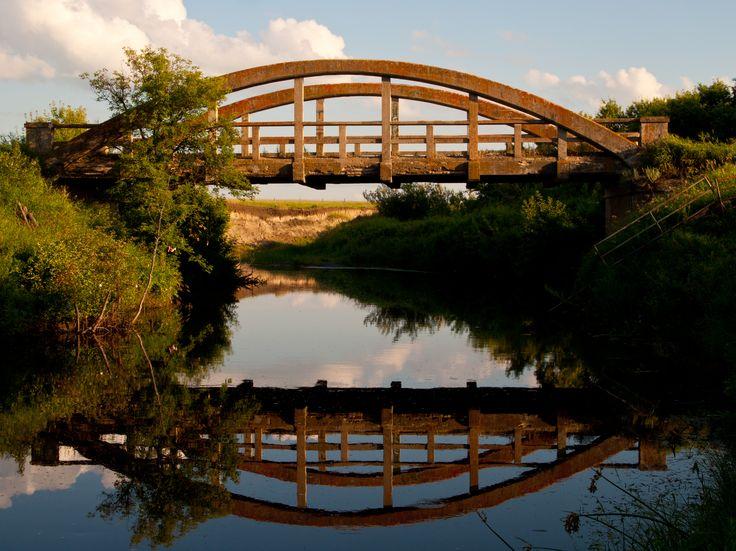 Rural bridge.