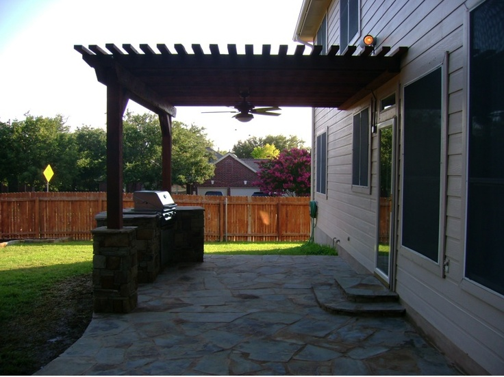 Pergola With Ceiling Fan By Dh Landscape Design Pergola
