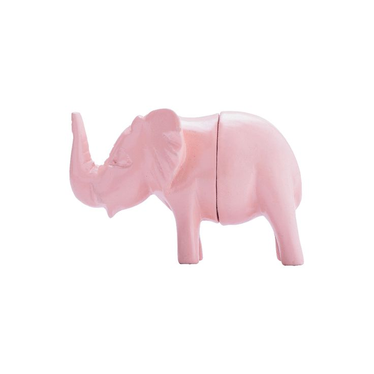 Wooden Elephant Magnet