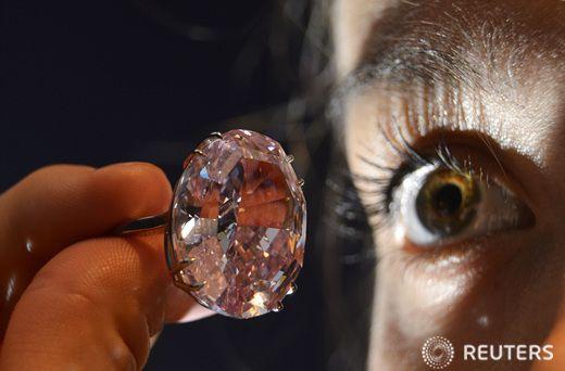 600억 넘는 핑크 다이아몬드