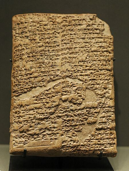 About 300 years after Hammurabi, in 1440 B.C., Moses recorded the Law for the Israelites. Because the Mosaic Law contains some similarities to Hammurabi's Code, some critics of the Bible believe that Moses copied from the Hammurabian Code. If they're right, and Moses simply stole from the Babylonians, then the whole episode at Mount Sinai is false (Exodus 34), and the inspiration of Scripture is suspect.