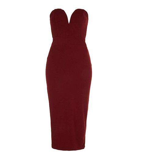 Holiday Dress: Topshop Halo Midi Bodycon Dress ($76)