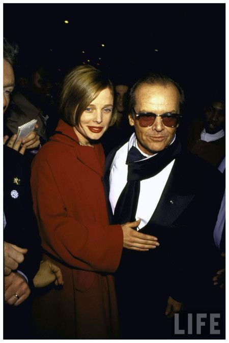 Jack Nicholson Sunglasses Series and Rebecca Broussard 1991