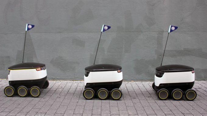 Autonomous delivery robots tested in San Francisco [video] http://ift.tt/2lNHRFy