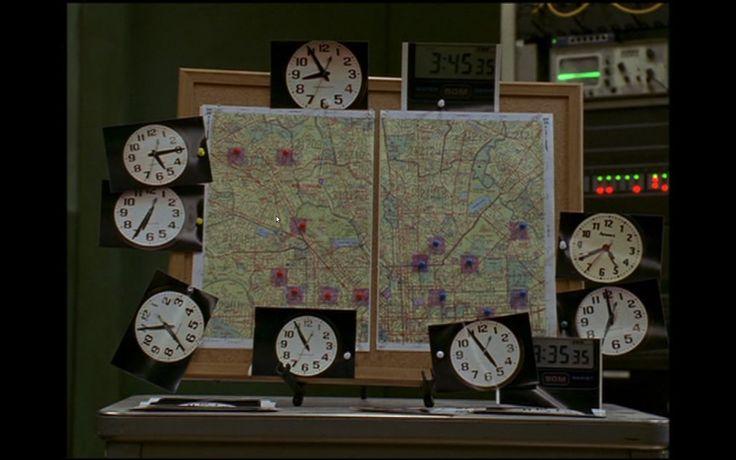 Sur écoute, 5ème et dernière saison, épisode 9, au début de l'épisode The Wire, Fifth and final season, episode 9, at the beginning of the episode