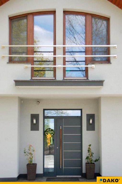okna PVC, drzwi aluminiowe z drewnianym pochwytem, naświetla boczne, naświetle górne, okna o nietypowym kształcie