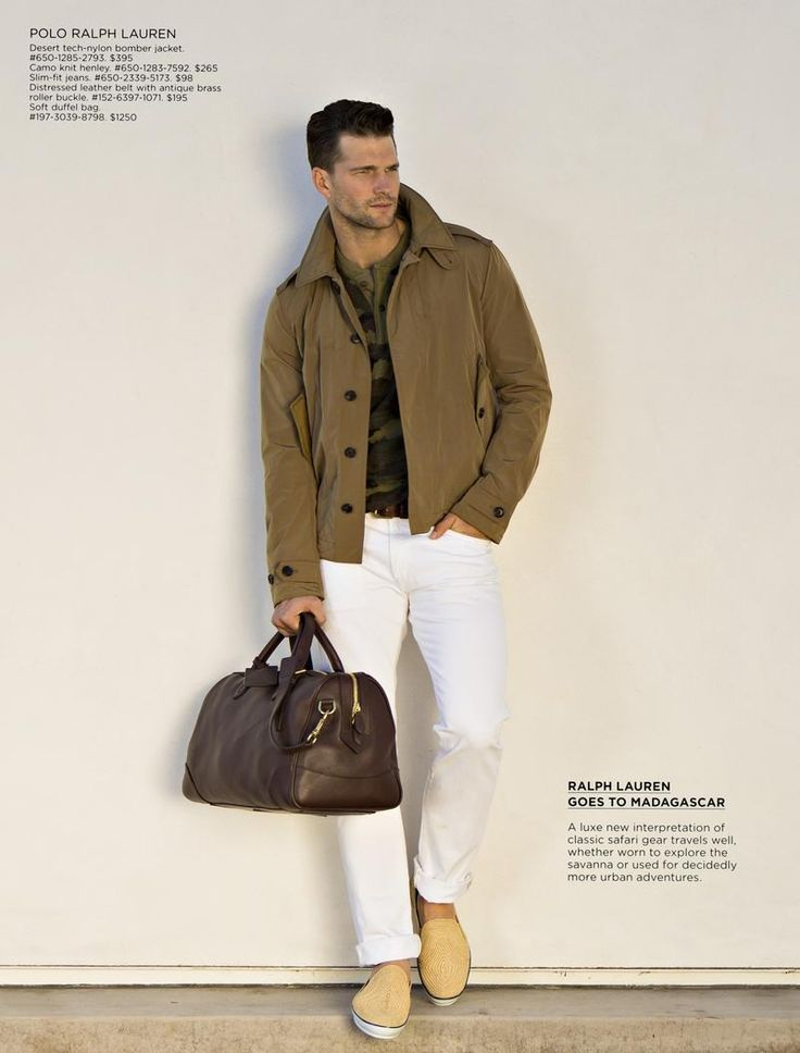 Men's casual style | Tomas Skodoulik for Saks Fith Avenue Spring 2014 by Erik Asla