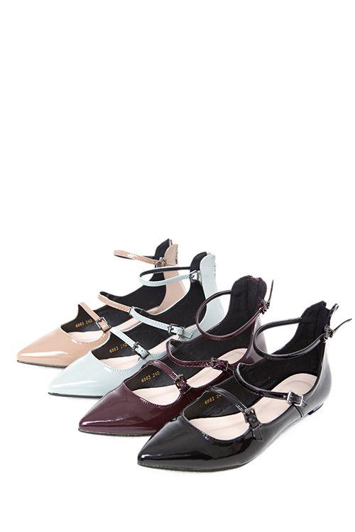 SP14-3 Туфли на 3 ремешках бордовые - купить в интернет магазине в Москве