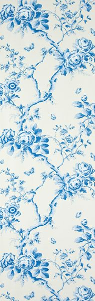 Designers Guild - Ashfield Floral - Delft - Wallpaper