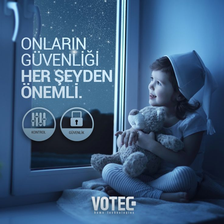 Votec Akıllı Ev Sistemleri, çocuklarınıza güvenli bir gelecek sunar.