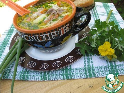 """Рисовый суп """"Быстрый"""" с куриной печенью - кулинарный рецепт"""