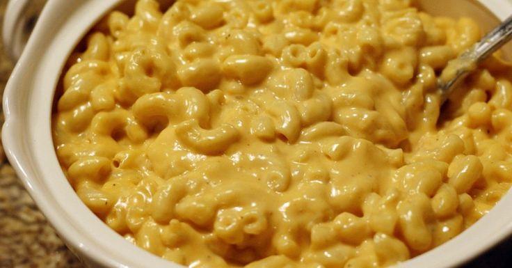Сырный соус к макаронам