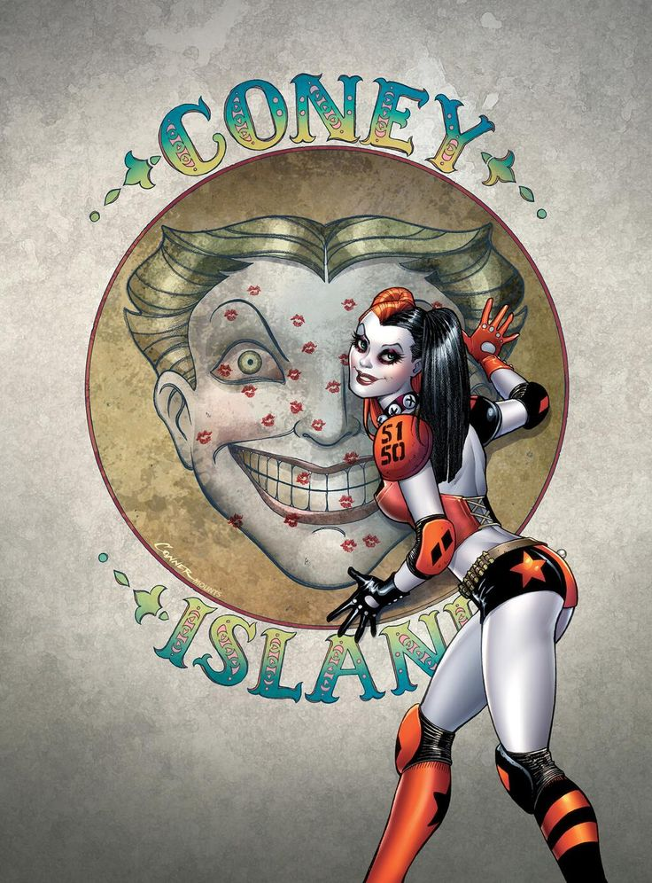 Cover art from New 52 Harley Quinn #1. She's finally getting her own comic!