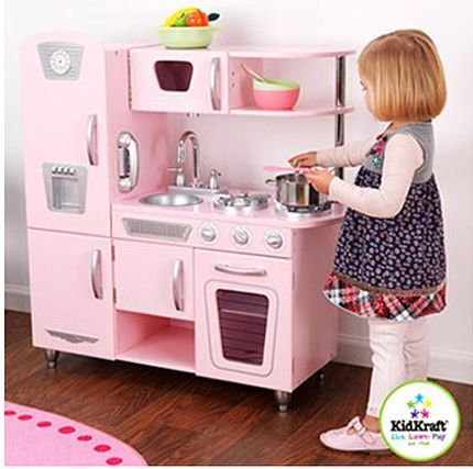 KidKraft Vintage Kitchen in Pink $89 (down from $129) + FREE Shipping!