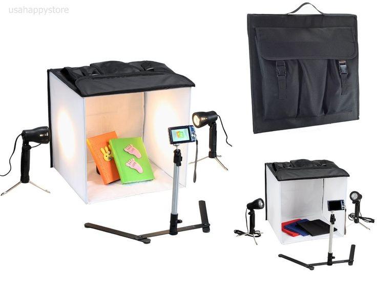Professional Photography Light Tent Studio Camera Stand Photo Lighting Kit Box #Square
