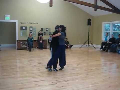 Tango Lesson: Dynamic Turns & Wraps in Close Embrace