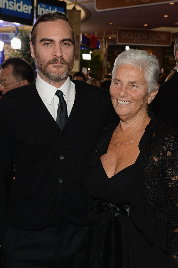 Pin for Later: 90+ Stars Being Sweet With Their Moms Joaquin Phoenix Joaquin Phoenix's mom, Arlyn, was his date to the Golden Globes in January 2014.