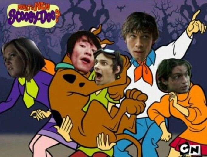 The 100 & Scooby-Doo || Clarke Griffin, Monty Green, Jasper Jordan, Bellamy Blake, Finn Collins || Eliza Jane Taylor, Christopher Larkin, Devon Bostick, Bob Morley, Thomas McDonell