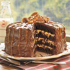 Chocolate Turtle Cake IV Recipe