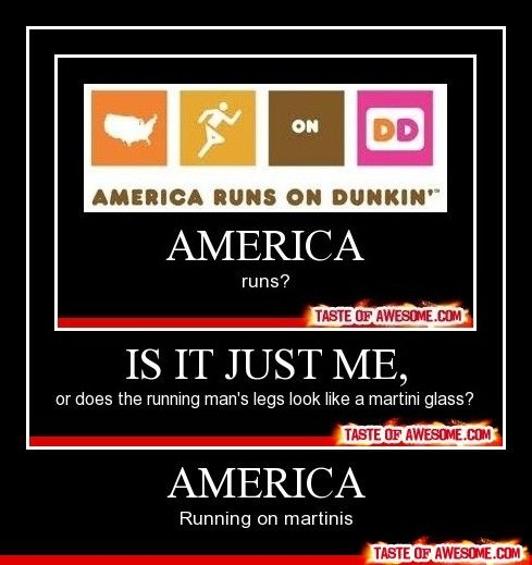 : Laughing, Dunkin Donuts, America 3, Fandoms Funny, Cups, America Running, America Hahahaha, America Lol, Giggl 3