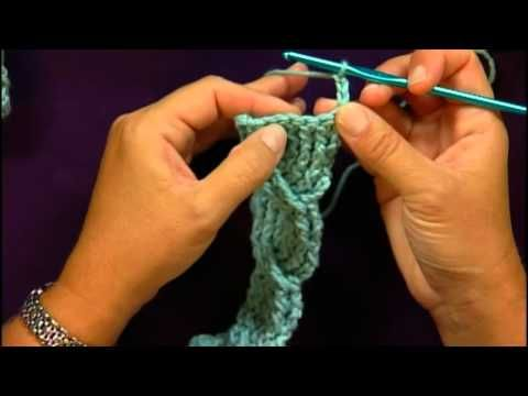 Cable crochet tutorial