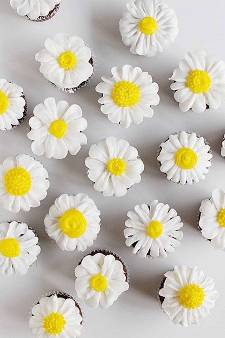17 Best ideas about Daisy Cupcakes on Pinterest Pretty ...