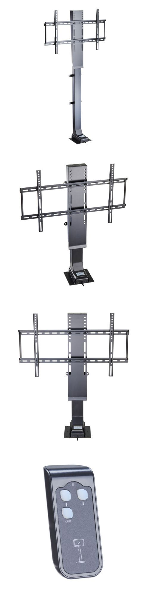 TV Mounts and Brackets: Motorized 32-50'' Flat Tv Lifting Stand Bracket W. Remote Control 1000Mm Stroke -> BUY IT NOW ONLY: $308.0 on eBay!