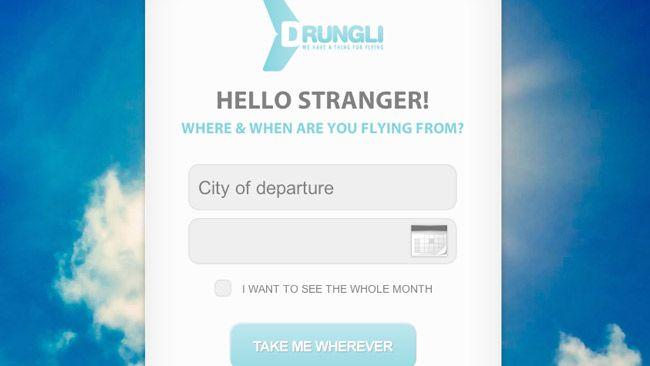 Drungli, el buscador de vuelos baratos para los más aventureros http://www.genbeta.com/p/67297