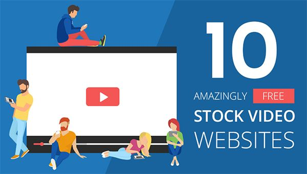 Need #Video for Your Website? 10 Amazingly Free Stock Video Websites: https://blog.red-website-design.co.uk/2017/09/22/free-stock-video-websites-infographic/ #WebDesign
