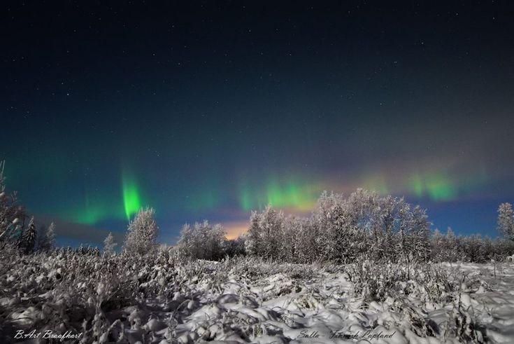 Auroras boreales desde la Laponia finlandesa – El Universo Hoy