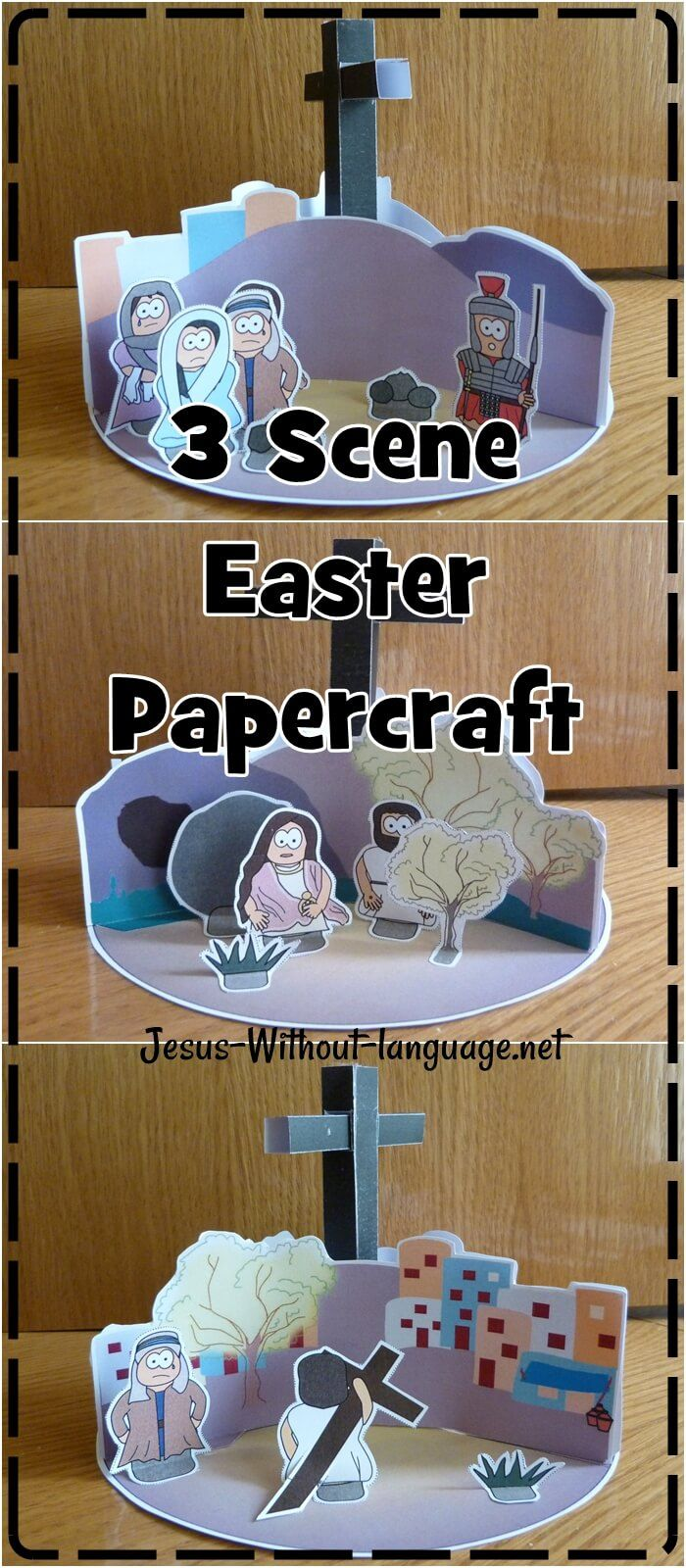 Witnesses to the Resurrection Easter Sunday craft