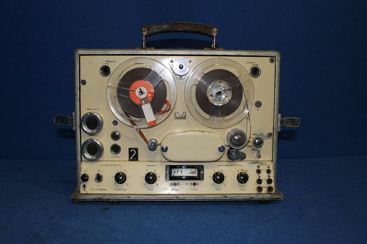 Maihak Reel To Reel Tape Recorder  Vintage German Gears