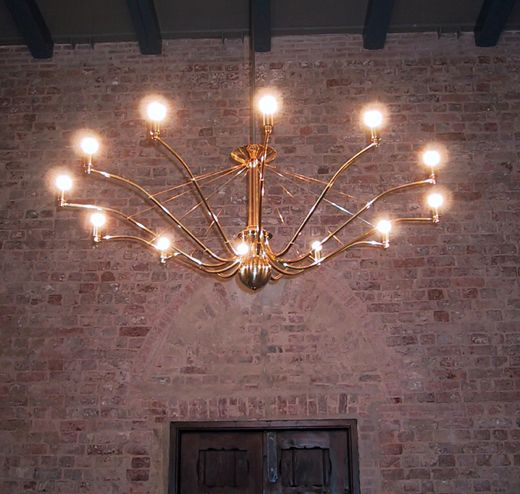 Light And Elegant Lighting Series For Church Rooms, Foyers