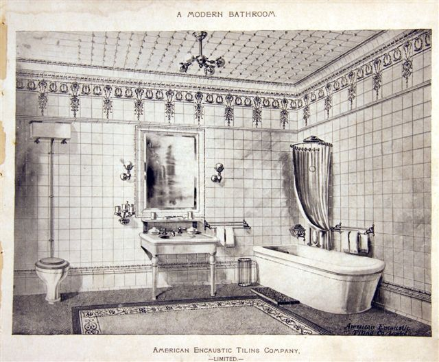 Old House Authority   Researching Historic Tiles in Old Houses   Victorian  BathroomVictorian. 28 best authentic Victorian bathrooms images on Pinterest