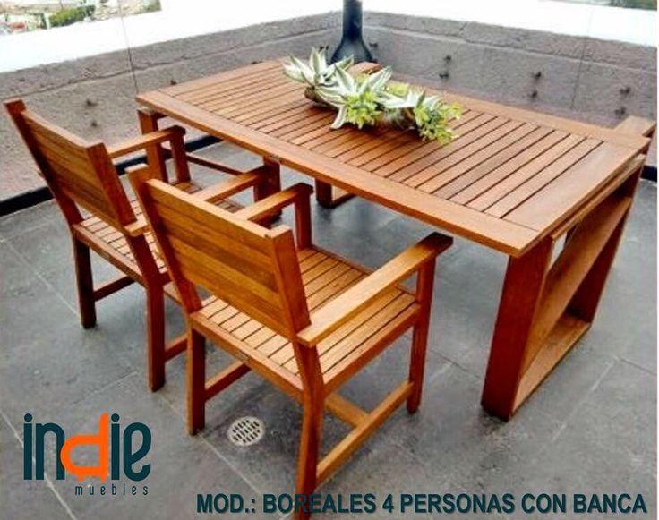 Comedor modelo: Boreales 4 personas con banca. Su diseño clásico lo hace perfecto para cualquier ambiente ya que es fácil de combinar y funciona perfecto en espacios grandes como reducidos. #indiemuebles #gratis #descuentos #muebleria #mueblesporcatalogo #catalogo2016_2017 #muebles #madera #tzalam #exterior #diseño #calidad #furniture #beautyfurnitures #furniturestore #wood #tzalamwood #design #quality #cancun #rivieramaya #mexicocon tu familia o amigos #indiemuebles #gratis #descuentos…
