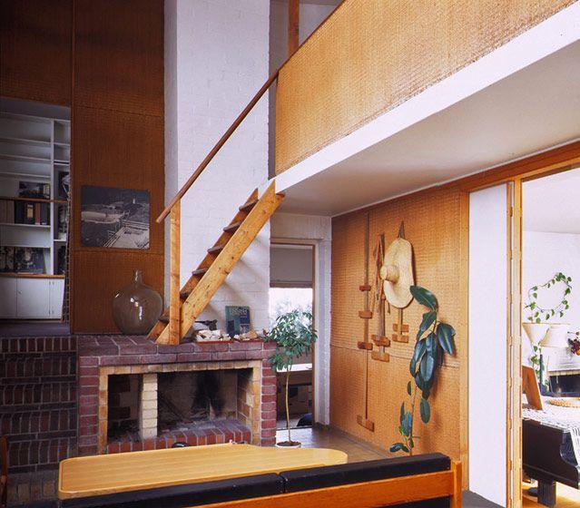 Alvar Aalto: Residential building and studio, 1935-36, Riihitie, Helsinki, Finland.