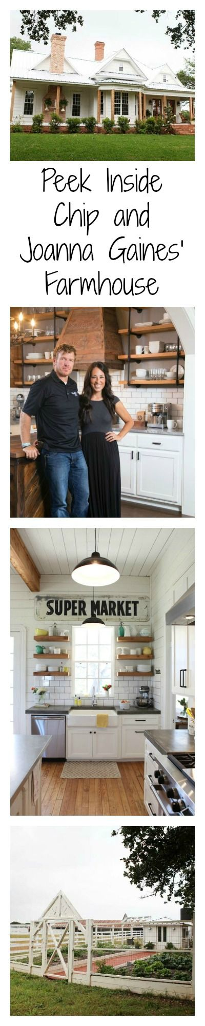 Love Chip and Joanna Gaines? Take a peek inside the farmhouse where the starts of HGTV's Fixer Upper reside.