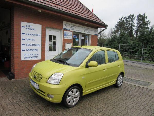 Kia Picanto 1.1 EX TÜV 01/2018 Klima ZV E.FH. -  Unfallfrei  Kleinwagen, Gebrauchtfahrzeug Verfügbarkeit: Sofort  EZ 09/200