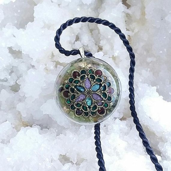 """Let love rise with """"Love's sunrise"""". Crystals, gemstones, symbols and orgonite beauty. Take a look at ElveMagic.etsy.com"""