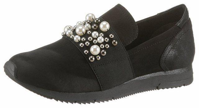 Daki« Slipper mit trendigen Zierperlen | Schuhe damen