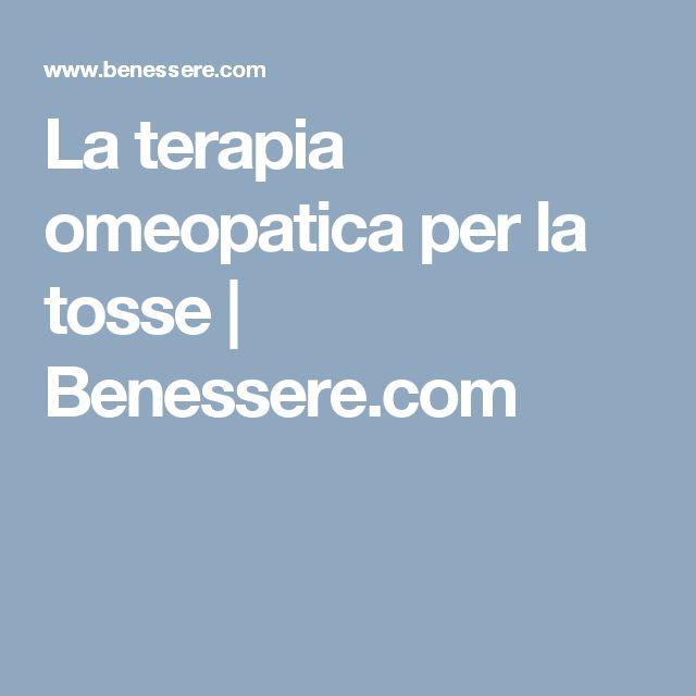 La terapia omeopatica per la tosse  | Benessere.com