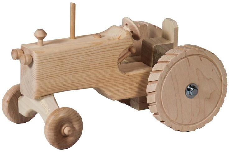 Wooden Toy Tractor Plans Free - Downloadable Free Plans