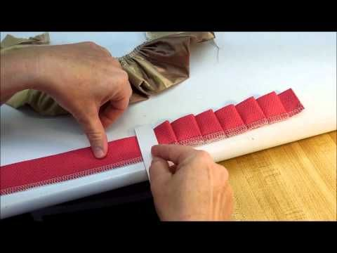 How To Make A Knife Pleat Ruffle