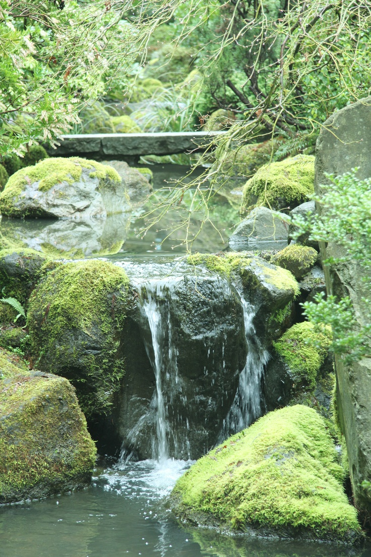 36 best japanese garden images on pinterest gardens for Zen garden waterfall