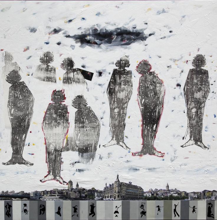 Kültür ve Turizm Bakanlığının düzenlediği 70. Devlet Resim ve Heykel yarışmasında Başarı Ödülü alan Hades II adlı eser