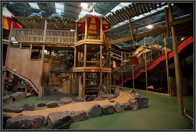 Folly Farm adventure park offers fun for all ages, both indoors and in the great outdoors.  When you've had enough of chasing the children around for one day, our wide range of attractions gives you the opportunity for a much needed pit stop. indoor playground